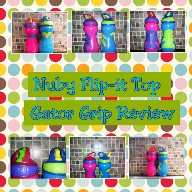 Fun Cup for Kids: Nuby Flip-It Top Gator Grip Cup