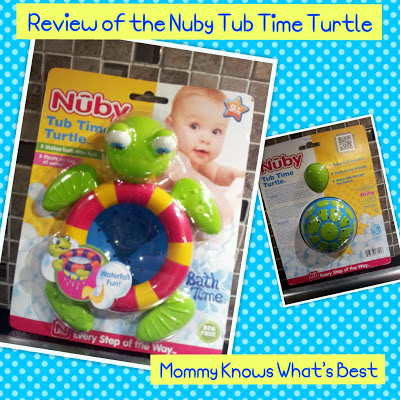 Bath Time Fun with the Nuby Tub Time Turtle: Review