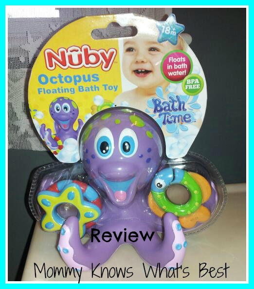 Nuby Floating Octopus Bath Toy Review