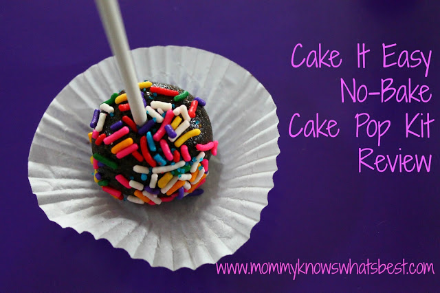 Cake It Easy No-Bake Cake Pops Kit Review