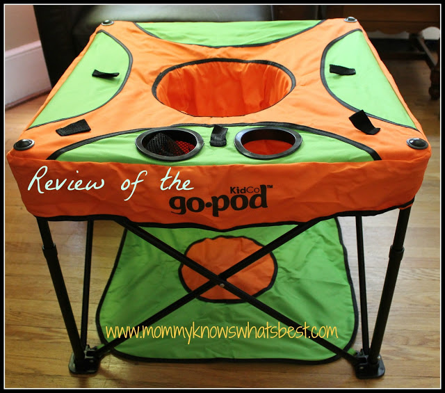 Review of the Kidco GoPod Portable Activity Baby Seat