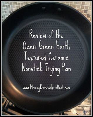 Review of the Ozeri Green Earth Textured Ceramic Nonstick Frying Pan