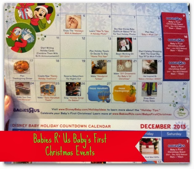 Baby's First Christmas Events at Babies R' Us #BRUChristmas