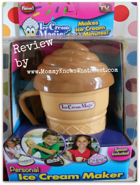Make Your Own Ice Cream with Ice Cream Magic for Kids {Review}