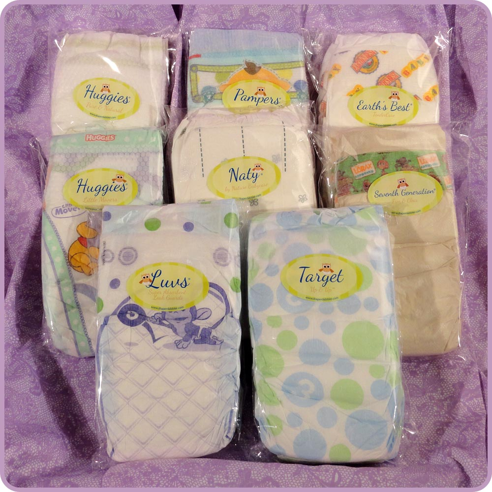 Find the Best Diapers for Your Baby with the Diaper Sample Packs from Diaper Dabbler {Review}
