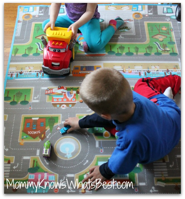 Kids Playroom Flooring Ideas, Featuring the playMAT PLUS