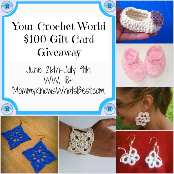 Your Crochet World $100 Gift Card Giveaway