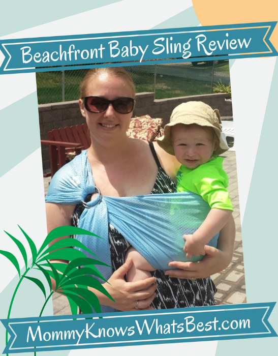Beachfront Baby Sling for Summer Fun in the Pool {Review}
