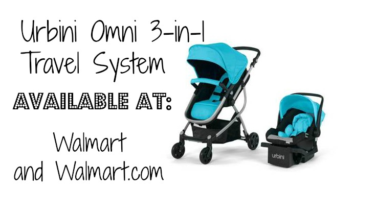 Omni 3-in-One Travel System Stroller #sponsored #MC #UrbiniBaby