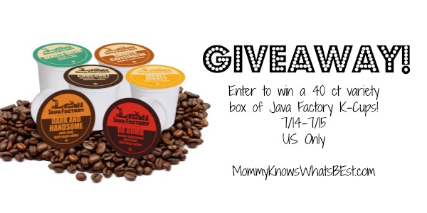 java factory giveaway