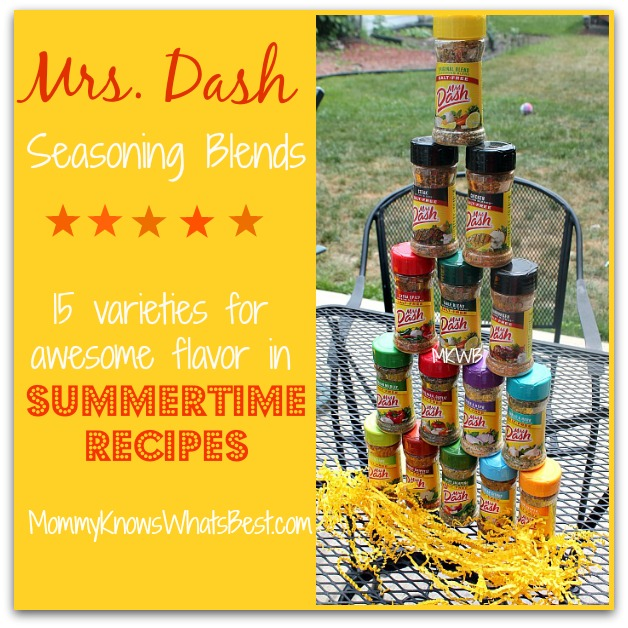 Mrs. Dash Seasoning Blends for Perfectly Seasoned Summertime Recipes