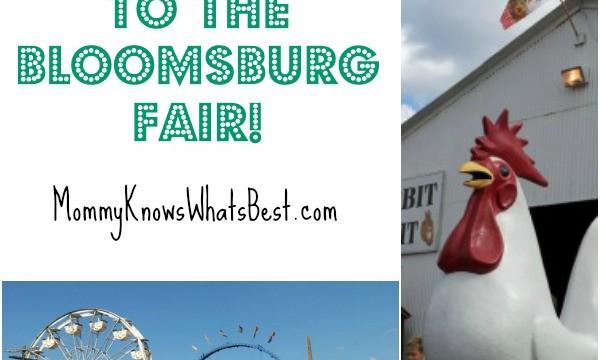 bloomsburg fair tickets