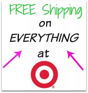 free shipping at Target