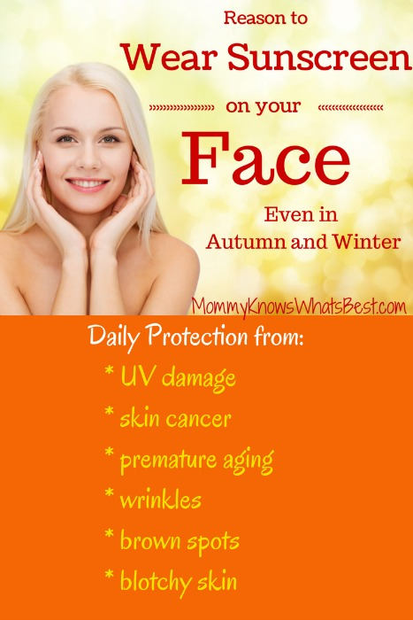 Do You Need To Wear Sunscreen On Your Face In The Fall?
