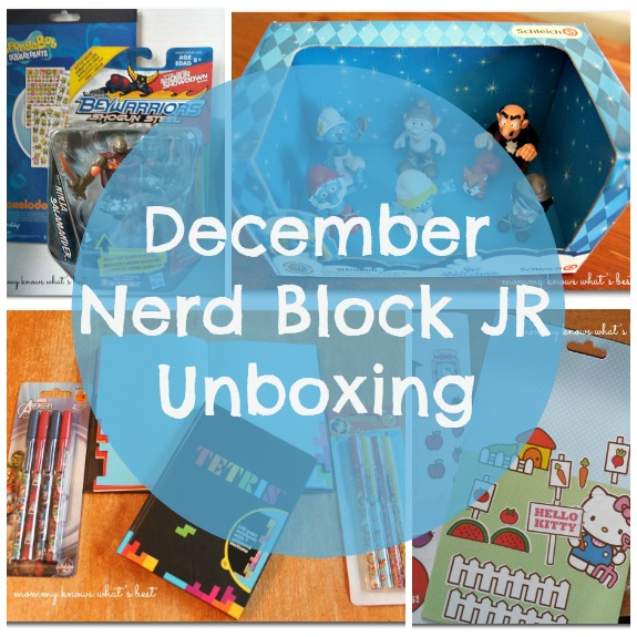 December Nerd Block JR Unboxing! - Mommy Knows What's Best