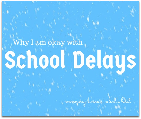 school snow delays