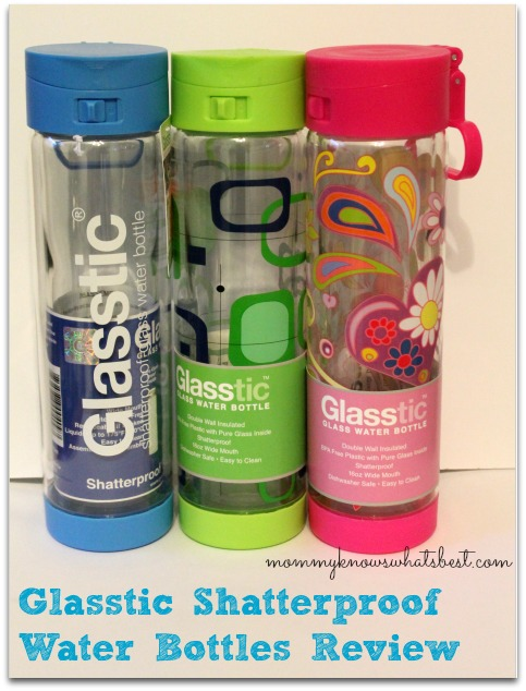 glasstic glass water bottle review