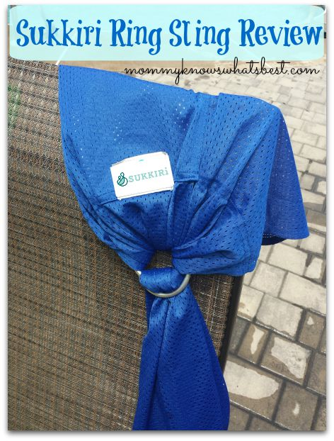 One of the Best Ring Slings for Summer- Sukkiri Ring Sling Review