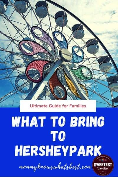 What to Bring to Hersheypark Printable Checklist