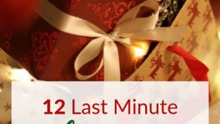 Need a Last Minute Gift? 12 Last Minute Christmas Gift Ideas