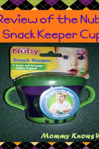 nuby snack keeper cup