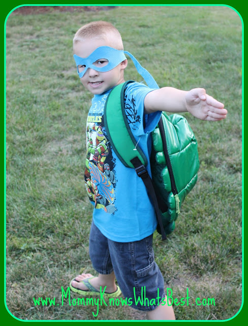 TMNT Shell Backpack Review