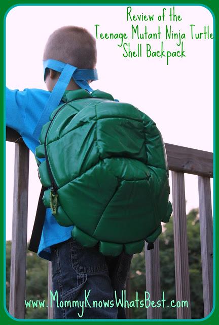 Teenage Mutant Ninja Turtle Shell Backpack Review