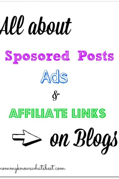 sponsored posts on blogs