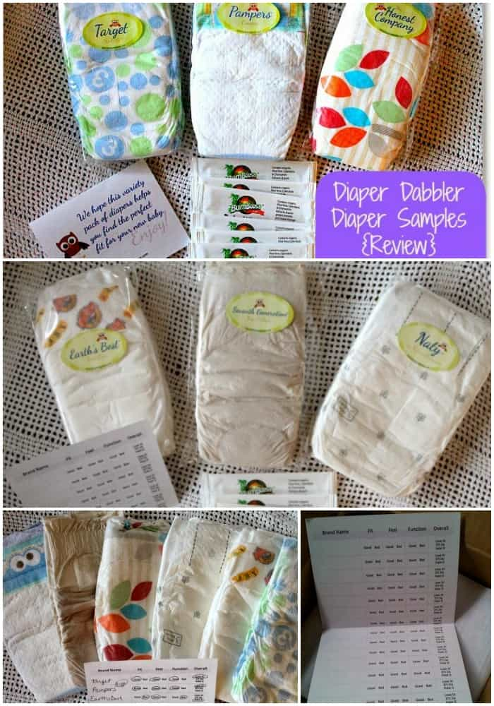 Best Diapers: How to Get a Sample Diaper Packs from Diaper Dabbler