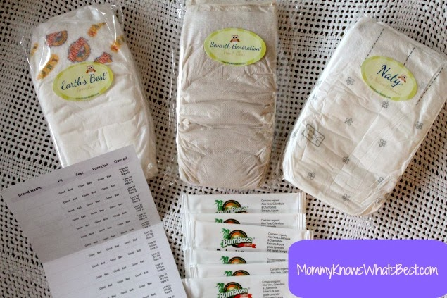 Which diapers should I get for my baby? Diaper samples