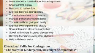 Kindergarten Readiness: What Should a Child Know Before Kindergarten?