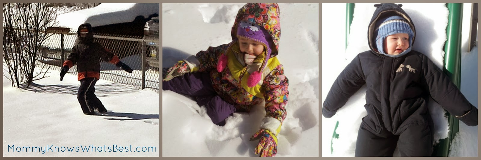 How to Keep Kids Warm and Dry When Playing in the Snow