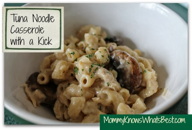 Easy Tuna Casserole with Noodles Recipe