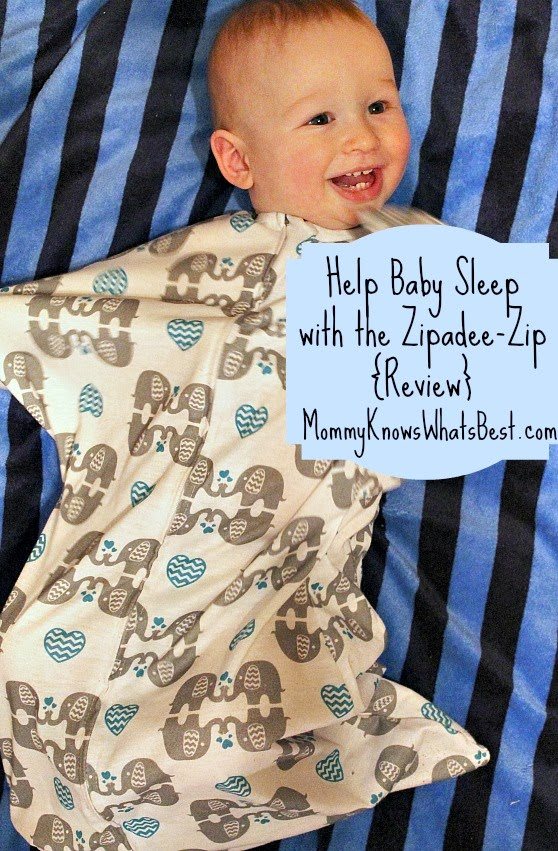 Help Babies Sleep: Zipadee Zip Review