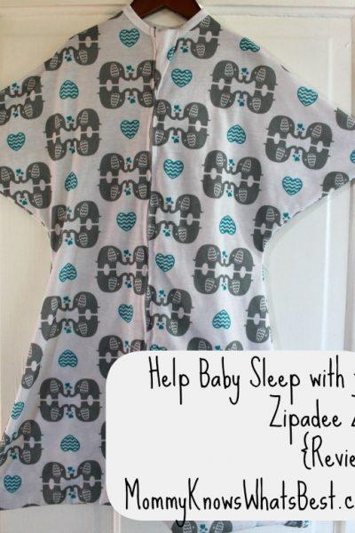 Zipadee Zip Review: Help Baby Sleep