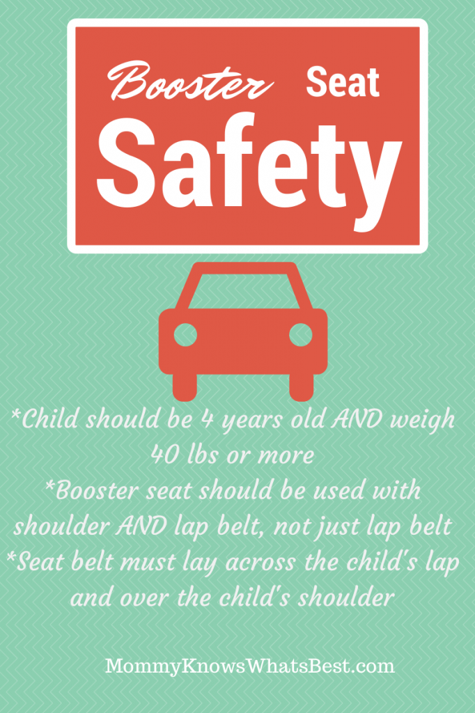 booster seat requirements