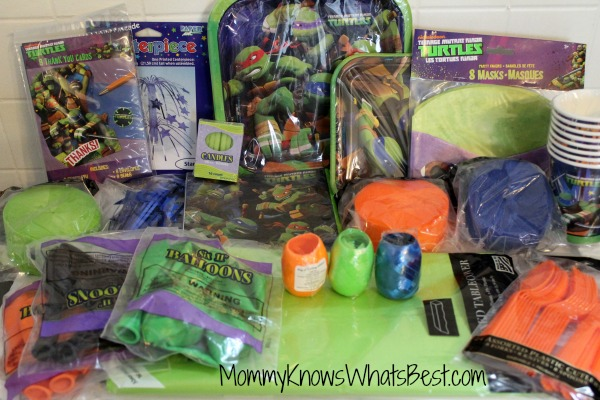 teenage mutant ninja turtles party supplies