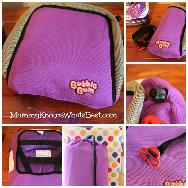 BubbleBum Inflatable Booster Car Seat for Kids