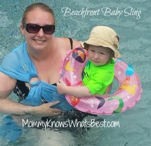 beachfront baby sling