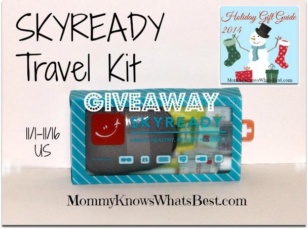 skyready travel kit giveaway