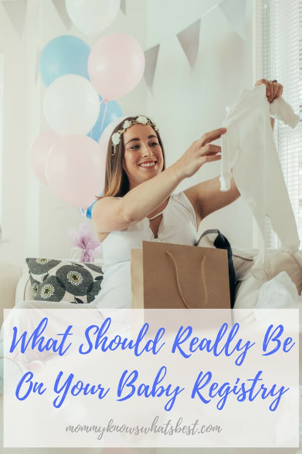 What Should Really Be On Your Baby Registry, Baby Registry Checklist