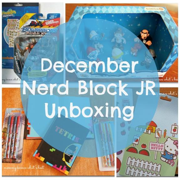 nerd block jr unboxing
