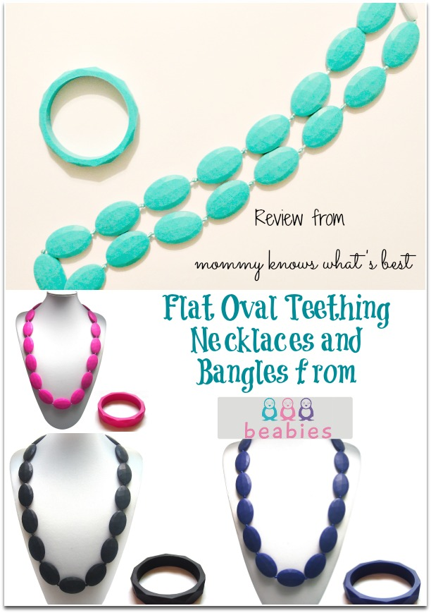 Stylish Teething Necklaces And Bracelets From Beabies