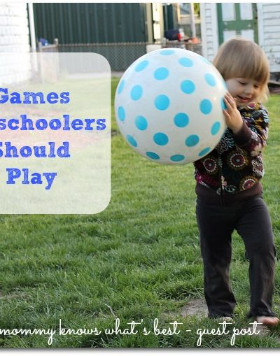 games preschoolers should play