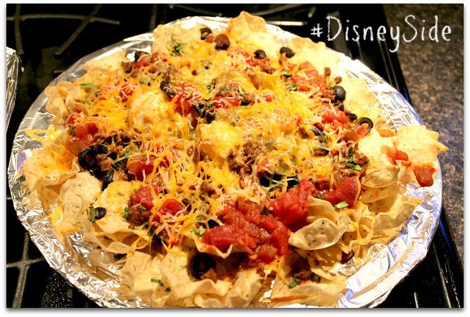 nachos grande vegetarian