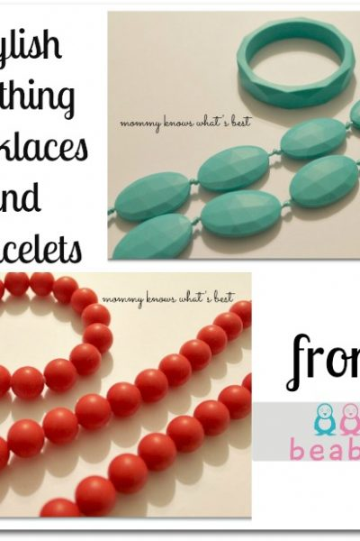stylish teething jewelry