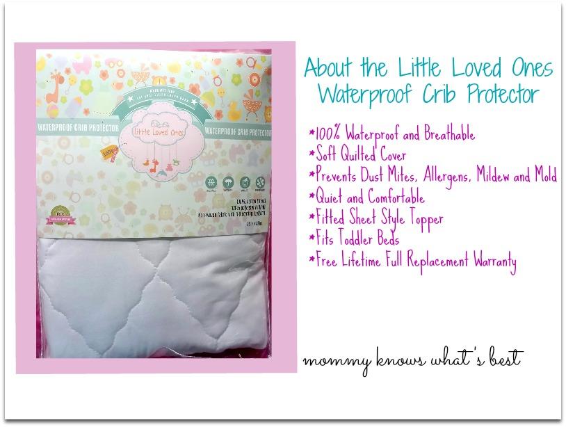 waterproof crib mattress protector