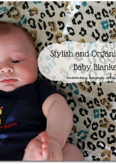 stylish and organic muslin baby blankets