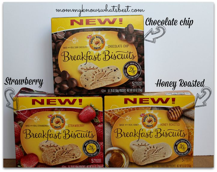 Honey Bunches of Oats Breakfast Biscuits Flavors