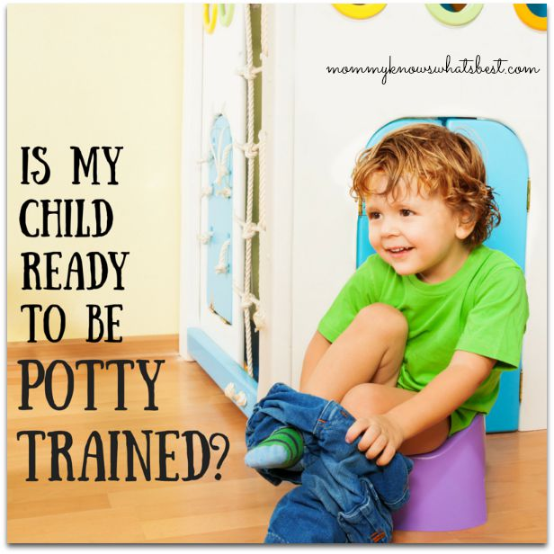 Is my child ready to be potty trained?